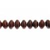 Breciated Jasper 6mm Rondelle (Flat Round) 44pcs Approx